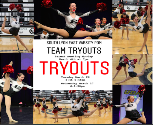 Tryouts for Varsity Pom are Here!