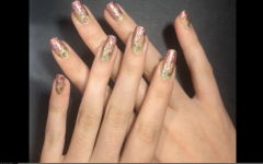 Nail Art: Pastel Polka Dot Gradient